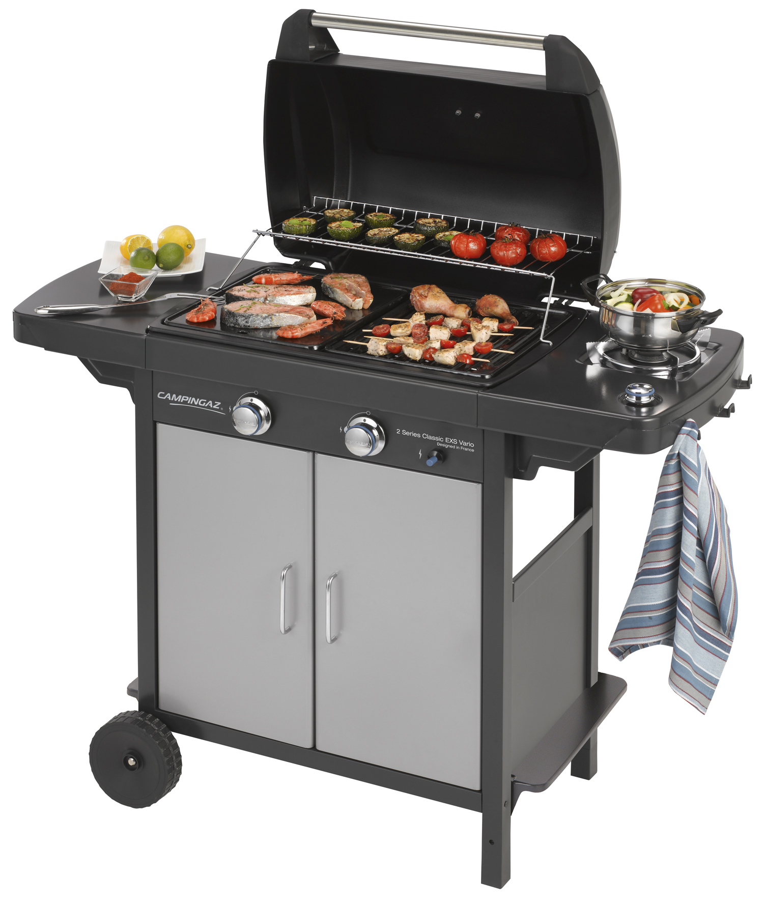 "1 PZ Di BARBECUE A GAS ""2 SERIES CLASSIC\"" EXS VARIO"