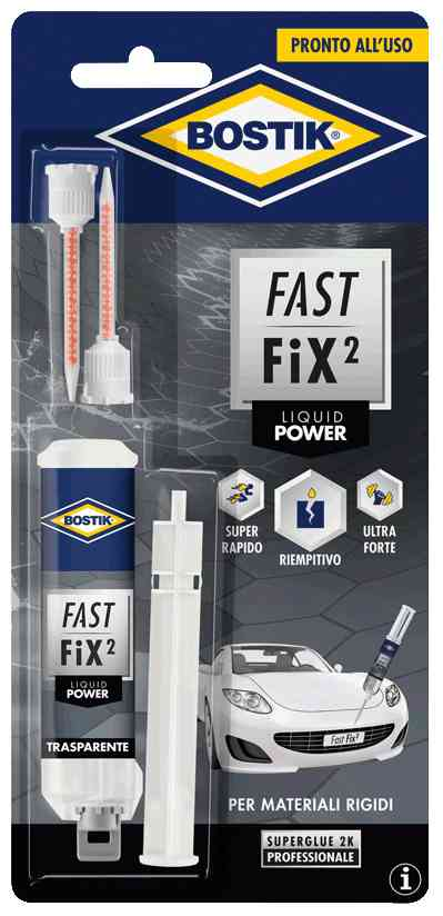 6 PZ Di BOSTIK COLLA FAST FIX LIQUID POWER