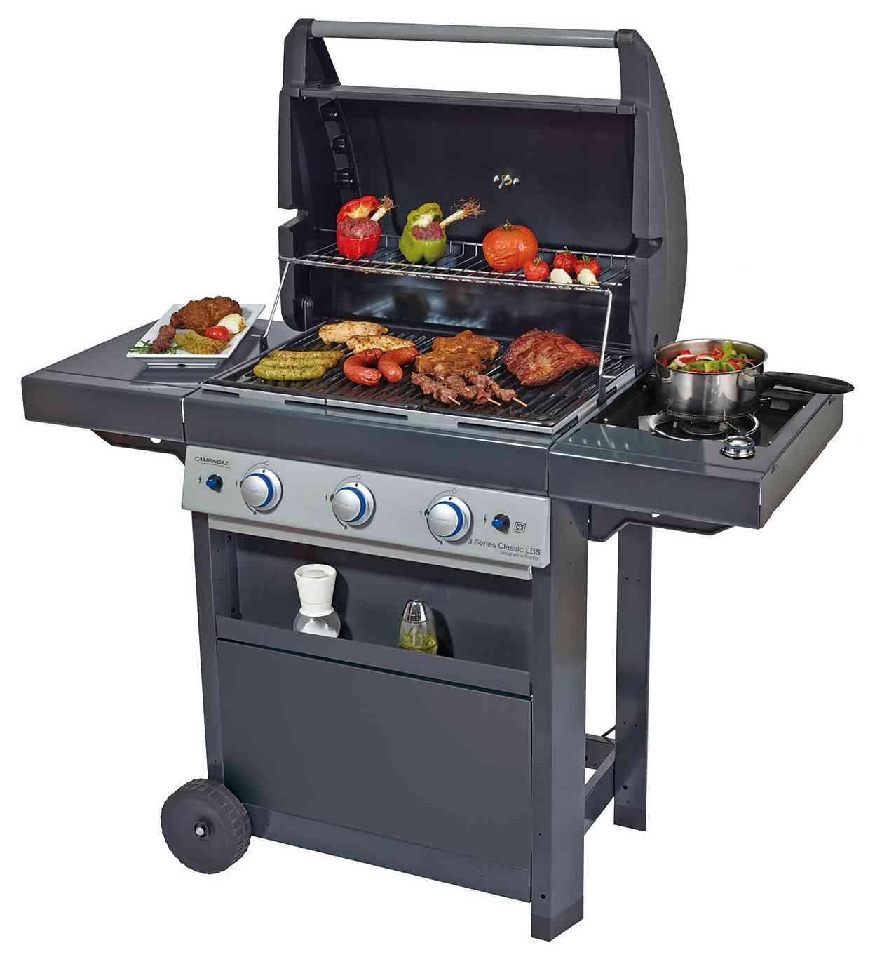 1 PZ Di BARBECUE A GAS '3 SERIES CLASSIC LBS'