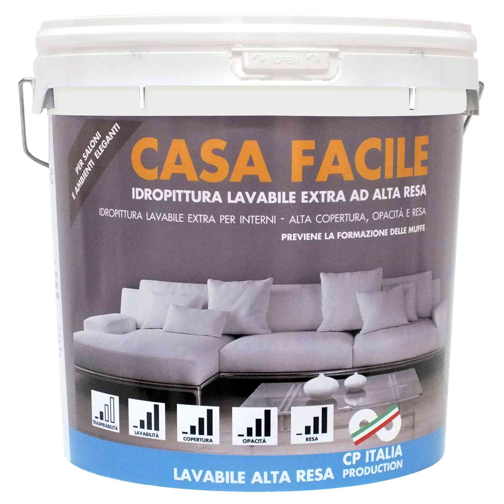 "1 PZ Di IDROPIT. SUPERLAVABILE ""CASA FACILE"" DA LT.14"