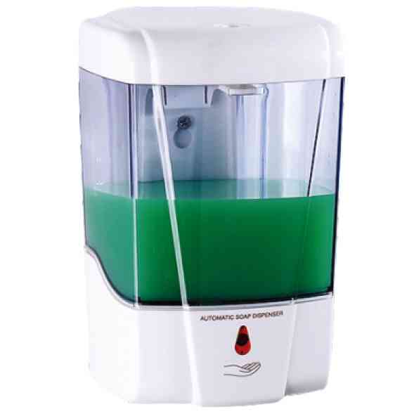 1 PZ Di DISPENSER AUTOMATICO SAPONE/GEL ML.600