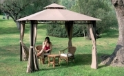 TELO TOP COPERTURA CM 295X295 BEIGE RICAMBIO X GAZEBO MT 3X3 ANTIVENTO AIR VENT