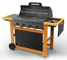 1 PZ Di BARBECUE A GAS ADELAIDE 4 WOODY DLX