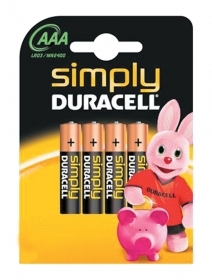 10 BL Di DURACELL SIMPLY ALCAL