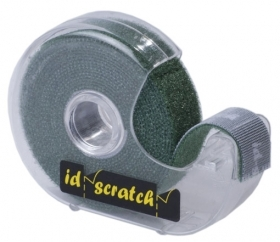 10 PZ Di NASTRO VELCRO 'STRONG' MT.2X25MM. VERDE