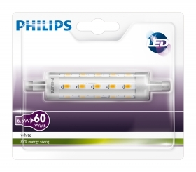 4 PZ Di *PHILIPS LED LINEARE R7S-W6,5-3000K- 806L