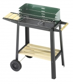 1 PZ Di BARBECUE 50-25 GREEN/W