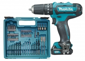 1 PZ Di MAKITA SUPERKIT 10,8VP-2AH-LI HP331DSAX1 2BAT
