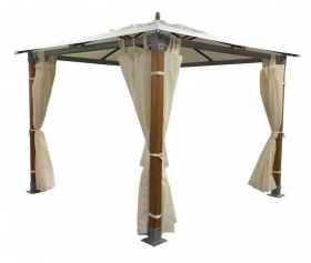 "1 PZ Di GAZEBO ""TOP\"" LEGNO-ALL"