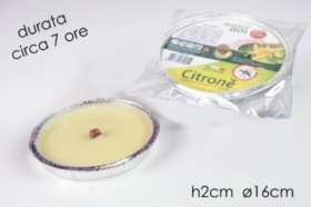 KIT 10 FIACCOLE ALLA CITRONELLA CAN