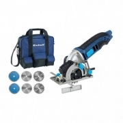 Mini sega circolare manuale BT-CS 860 KIT con borsa e lame Einhell 450 W